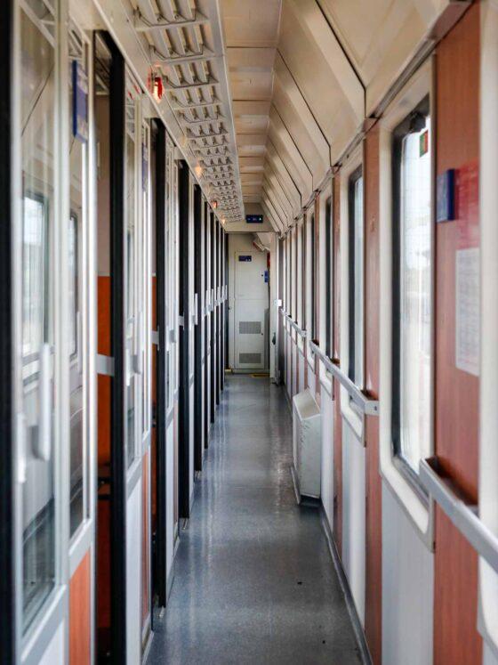 trenul transilvania interior
